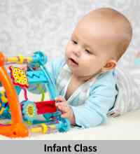 Infant montessori class in Plano, TX