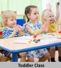 toddler montessori class in plano, tx