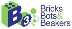 bricks, bots, beakers logo